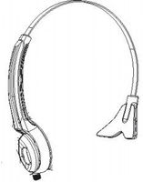 AUDIO ACCESSORY-HEADSET,HS30 OVER THE HEAD REPLACEMENT HEADBAND. ( DOES NOT INCLUDE ACTUAL HEADSET).