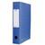 ELBA Boîte de classement EUROFOLIO carte lustrée, dos 6 cm, fermeture élastique, 24x32 cm, coloris bleu