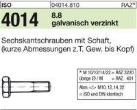 ISO4014 M16x140