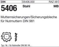 DIN5406 MB0/M10x0,75