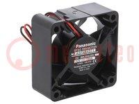 Ventilador: CC; axiales; 12VCC; 60x60x25mm; 22,2m3/h; 19dBA