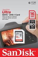 Ultra SDHC 16GB 80MB/s UHS-I Class 10