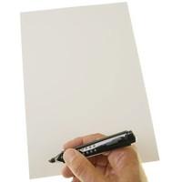 stattys Folien-Haftnotizen PP XL (A4) weiß 21x29,7cm 50 Blatt