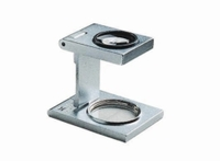 Metal precision linen testers with scale Magnification 8x/32 dpt Dimensions diam. 17,5 mm Field of view Ø 18 mm Height 3