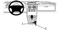 Brodit Fahrzeughalter ProClip für Renault Laguna 94-00