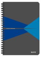 Collegeblock Office, A5, lam. Karton, liniert, 90 Blatt, blau