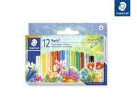 Noris Club® 241 Öl-Pastellkreide Kartonetui mit 12 sortierten Farben