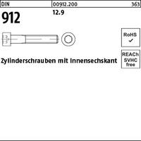 DIN 912 12.9 M 8 x 20 S
