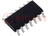Mikrokontrolér AVR; EEPROM:128B; SRAM:128B; Flash:2kB; SO14
