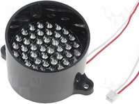 Módulo: cluster LED; Color: rojo; 9,25VCC; 40°; Nr diodos:50