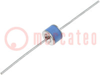 Arrester: surge arrester; THT; Leads: axial; Ubr type:150V; 10GΩ