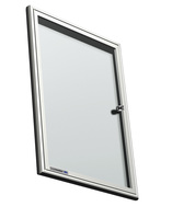Legamaster Schaukasten PREMIUM Whiteboard für den Innenbereich, 4x DIN A4