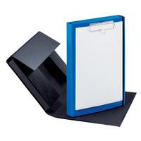 Duobox A4 rot Dokumentenmappe mit Klemmbrett