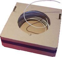 Produktabbildung - H5V-U 1 qmm weiß Aderleitung - Preis pro Meter (als Bestellmenge gewünschte Meterzahl eingeben)