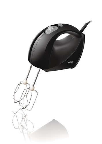 Philips HR1560/20 kézi mixer, fekete - HR1560/20