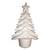20 arbres de Noël originaux à décorer en styropor de 14x9cm. Un socle permet de le faire tenir debout.