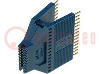 Messclip; SOIC; PIN:28; grau; Reihen- Abst:36,32/19,3mm