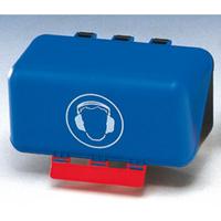 Anwendungsbeispiel: Aufbewahrungsbox, für persönliche Schutzausrüstung, (-Secu Box Mini-, Art. gh0782)