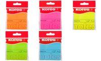 """Kores Haftnotizen """"NEON"""", 75 x 75 mm, blanko, neon-blau (5647078)"""