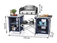 Outdoorküche Arbeitsplatte Xxl : Campart travel campingküche malaga bei mercateo günstig kaufen