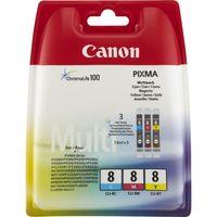 Canon CLI-8 C/M/Y Farbtinte Multipack