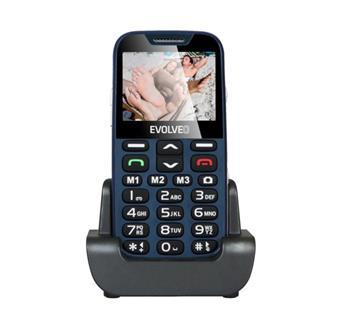 Mobilní telefon Evolveo EasyPhone XD se stojánkem, modrá EP-600-XDL