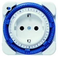Steckdosenschaltuhr IP20 Tage-Wochen analog 230V 16A 120min
