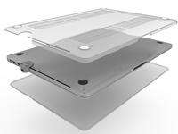 "Compulocks MBPRTB15CLBUN-SM notebooktas 38,1 cm (15"") Hardshell-doos Transparant"