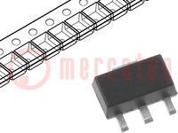 Voltage regulator; adjustable; 1.2÷440V; 10mA; SOT89-3; SMD