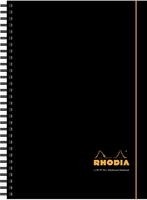 Rhodia Notebook Polypropylene Wirebound Lined & Margin A4 Plus Ref 119236C [Pack 3]