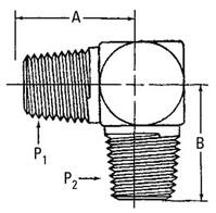 AEROQUIP 2085-6-6S