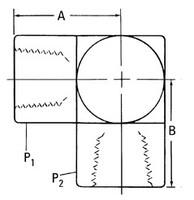 AEROQUIP 2087-6-6S Adaptor