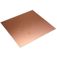 RVFM Copper Clad Double Sided FR4 Fibre Glass Board 233.4 x 220mm