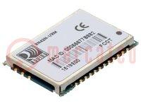 Modul: Bluetooth; UART; SMD; 2.1 EDR; Osztály:2; Titkosítás: AES128