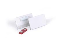 Durable Porte-badge à aimant 40 x 75 mm
