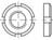 Artikeldetailsicht Nutmuttern für Wälzlager DIN 981 14 H KM 16 M 80 x 2 VE=S