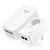 Bezdrôtové zásuvky pre internetový rozvod 100-240V, 50/60Hz, biela, TP-LINK