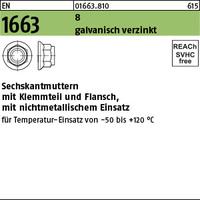 EN 1663 Kl.8 M 6 galv. verzinkt gal Zn VE=S (100 Stück)