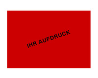 Einzeletiketten, individuell bedruckt, 148 x 105 mm, rot ( keine Leuchtfarbe)