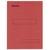 ESSELTE Boîte de 100 sous-dossiers 160g à 2 rabats rouge Scor , pour dossiers armoire et tiroir
