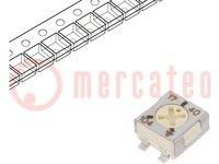 Potentiometer: für den Einbau; 1-Drehung; 100kΩ; 250mW; SMD; ±20%