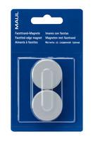 MAUL Magnete 34mm 6178284 grau 2 Stück