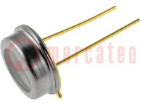 Fotodioda IR PIN; TO5; 850nm; 400-1100nm; 55°; Montáž: THT; 2nA