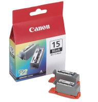 Canon Tinte BCI-15 BK 2x schwarz (8190A002) für i70