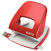 Bürolocher NeXXt, Metall, 30 Blatt, rot