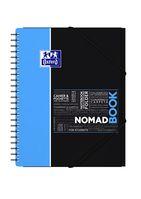 Oxford Studium Nomadbook A4+, liniert 7 mm, 80 Blatt, 90 g/m² Optik Paper