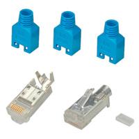 HiRose TM11 connector afgeschermd, tule blauw