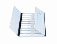 20slides Microscope slide folders Cover type without