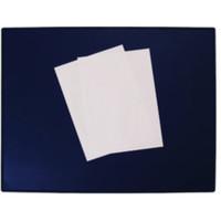Schreibunterlage, Kst., 63x50cm, blau