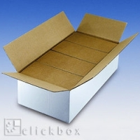 Faltbox CD425 weiß 545x270x153 mm